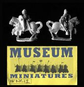 Museum Miniatures 15mm Crusader NC12 Knight Commander (x 4 mtd figs)